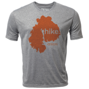 "hike. MDI ""Customize Graphic Color"" - Mens SS Hybrid T"