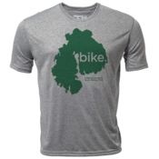 "bike. MDI ""Customize Graphic Color"" - Mens SS Hybrid T"