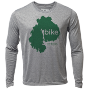 "bike. MDI ""Customize Graphic Color"" - Mens LS Hybrid T"