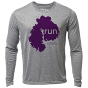 "run. MDI ""Customize Graphic Color"" - Mens LS Hybrid T"