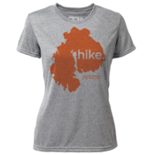 "hike. MDI ""Customize Graphic Color"" - Womens SS Hybrid T"