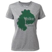 "bike. MDI ""Customize Graphic Color"" - Womens SS Hybrid T"