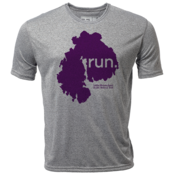 "run. MDI ""Customize Graphic Color"" - Mens SS Hybrid T"