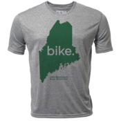 "bike. Maine ""Customize Graphic Color"" - Mens SS Hybrid T"